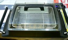 Jenn Air  Rotisserie Kabob Grill   Deep Fryer  basket and cover