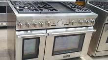 Thermador Pro 48  SS 6 Burners   Griddle Dual Fuel Gas Range 2016 Model