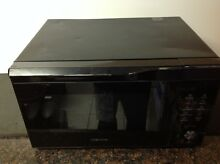 Samsung 1 1 cu  ft  MC11K7035CG Convection Microwave Oven Black Stainless   Used