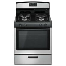 5 1 cu  ft  Gas Range in Stainless Steel