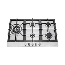 30 in  Stainless Steel Gas Cooktop with 5 Sealed Burners 850SLTX E