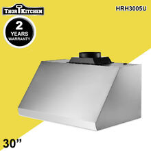 Thor Kitchen 30  Under Cabinet  Range Hood Stove Vent Fan Ventilator 900 CFM