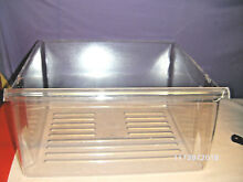 Maytag Side by Side Refrigerator Crisper Drawer WP2188661 Clear 16 3 8 x 14 7 8