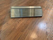 Sub Zero 7003547 36  Pro Louvered Grill for 88  Refridgerator Stainless Steel