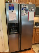 Whirlpool Stainless Steel 36  Side By Side Refrigerator     EDSRHEXNL03