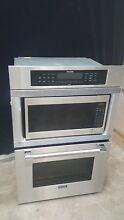 Thermador Pro 30  SS Combo Oven Microwave Wall Oven Model  MBBS 01