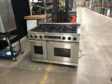 Dacor 48  SS 6 Burners Duel Fuel Gas Range