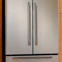 NEW Dacor Chrome Accy Epicure 36  Refrigerator SET OF 3 HANDLES Silver AFE36H3CH