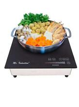 Mr  Induction SR 657RT Commerical 220V 2600W Built in Cooker  Black Silver