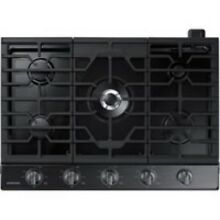 Samsung 30  Fingerprint Resistant Black Stainless Steel Gas Cooktop