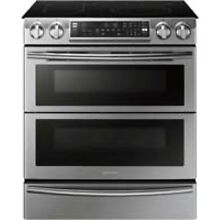Samsung Stainless Steel Flex Duo Slide In Electric Range