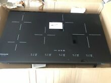 Frigidaire Gallery Series 36 Inch Black Induction Cooktop FGIC3667MB
