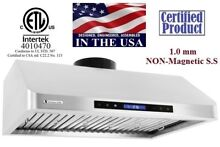 XtremeAir PX10 U42 42 Inch Under Cabinet Mount Range Hood From Stainless