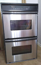 Whirlpool Gold  Stainless Steel   Electric Double Wall Oven ATLANTA Pick up Only