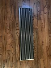 Sub Zero 7003547 36  Pro Louvered Grill for 36  Refridgerator Stainless Steel