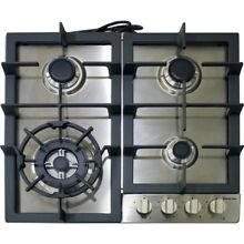 Magic Chef MCSCTG24S 24  Built In Gas Cooktop
