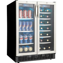 Danby Silhouette 24 French Door Beverage Centre   DBC2760BLS