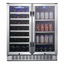 Edgestar   28 Bottle and 86 Can 30  Built In or Free Standing Wine and Bevera