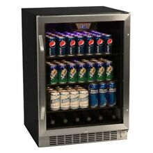 Edgestar   148 Can 24  Built In or Free Standing Beverage Cooler   Reversible