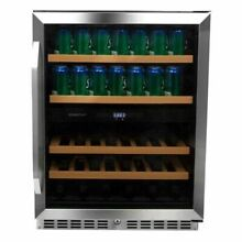 Edgestar   22 Bottle and 84 Can 24  Built In or Free Standing Wine and Bevera