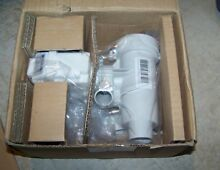 Genuine GE Front Load Washer Drain Pump Assembly WH23X10028    Brand New