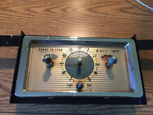Time clock 3TAR4CA1 REMOVED FROM GE  MODEL   1J501M Electric Wall Oven