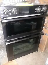 Samsung   30  Microwave Combination Wall Oven with Flex Duo    Fingerprint Resis