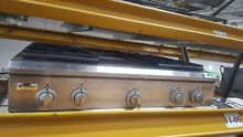 GE Monogram 36  SS 4 Burners   Griddle Range Top Model  ZGU36N4DHSS