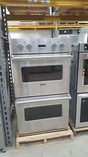 Viking Pro 30  SS Double Wall Oven