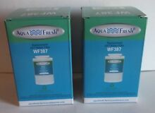 2  Aqua Fresh Replacement GE Water Filters WF387