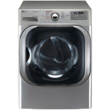 LG Graphite Steel Gas Steam Dryer