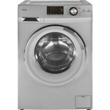 Haier Silver Front Load Washer And Dryer Combo