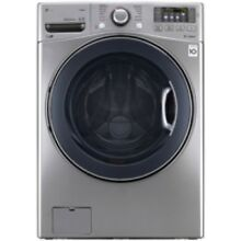 LG 4 5 Cu  Ft  Ultra Large Capacity TurboWash Washer