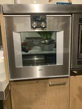 Gaggenau 400 Series 30 in  Electric Wall Oven   Silver BO481611