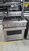 Viking Pro 30  SS Electric Induction 4 Burners Range Model  VISC5304B