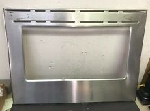 Genuine Frigidaire Oven Door Outer Panel Assembly Stainless 316407803