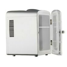 Smad Thermoelectric Cooler and Warmer Camping Fridge 4 L Sliver LY0204C New