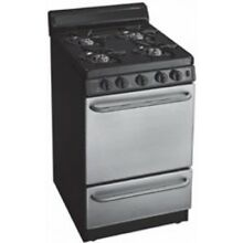 Premier 20  Free Standing Gas Range   Stainless Steel Finish