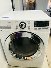 LG 7 4 CU FT Stackable Gas Dryer  White  Model   DLG3371W