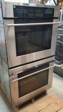 GE Monogram 30  SS Double Convection Wall Oven Model  ZET958SF7SS