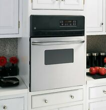GE 24 Inch Electric Wall Oven Stainless Steel Model JRS06SKSS