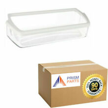 For Whirlpool Kenmore Refrigerator Clear Door Bin   White Trim   PM1749106X92X1