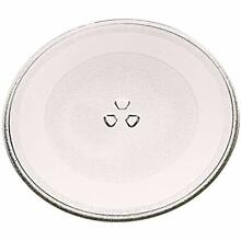 12 3 4  Microwave Oven Turntable Glass Tray Dish Plate 1B71961F For Kenmore LG