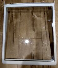 MAYTAG WHIRLPOOL REFRIGERATOR SLIDE OUT GLASS SHELF  AP6005633  WP13029504