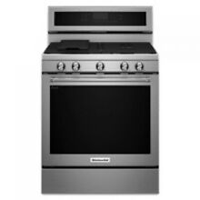 KitchenAid 30  Stainless Steel Freestanding Gas Range