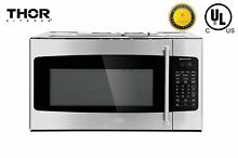 Thor Kitchen 30  1 7 cu ft Microwave Oven Over the Range Ventilation System NEW