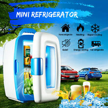 10L Portable Mini Car Fridge Thermometric Refrigerator Cooler Heating Freezer