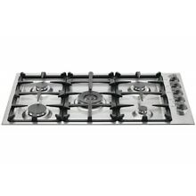 Bertazzoni 36  Master Series Stainless Steel Drop In Gas Cooktop