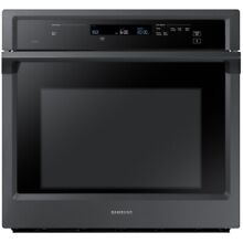 Samsung Steam Cook Self Cleaning True Convection Single Electric 30  Wall Oven