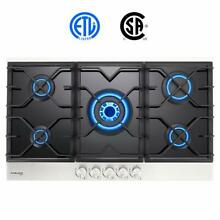 Gasland chef  Gas Cooktop 36  Built in Gas Stove Top with 5 Sealed Burners